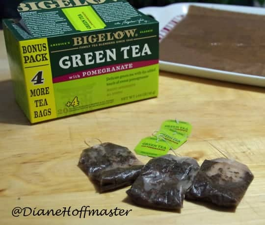 What to do with used teabags #AmericasTea #shop