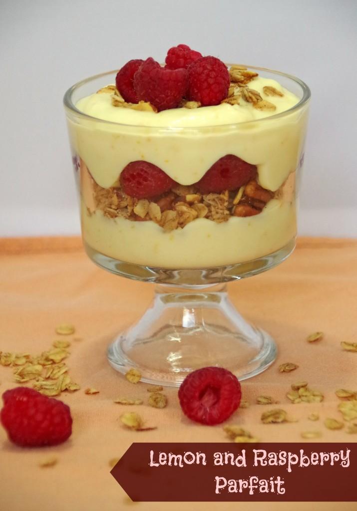 Lemon and Raspberry Parfait Recipe