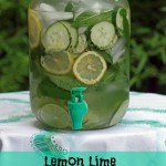 How to Make Lemon Lime Detox Water