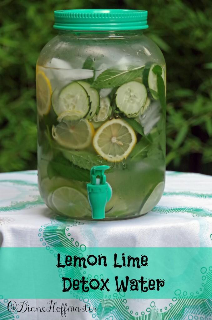 How to Make Lemon Lime Detox Water