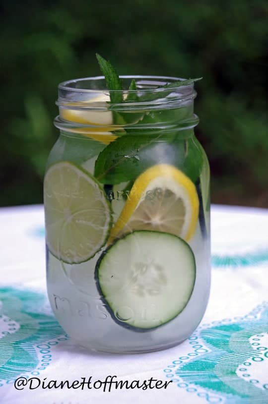 Health Benefits of Detox Water