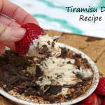 Tiramisu Dip Recipe Makes a Simple Summer Dessert