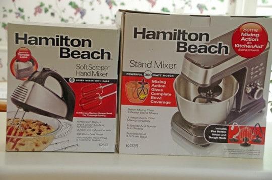 Hamilton Beach Mixers
