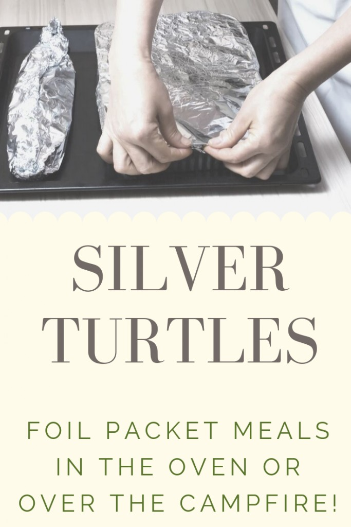 Silver Turtles Foil Wrapped Meal