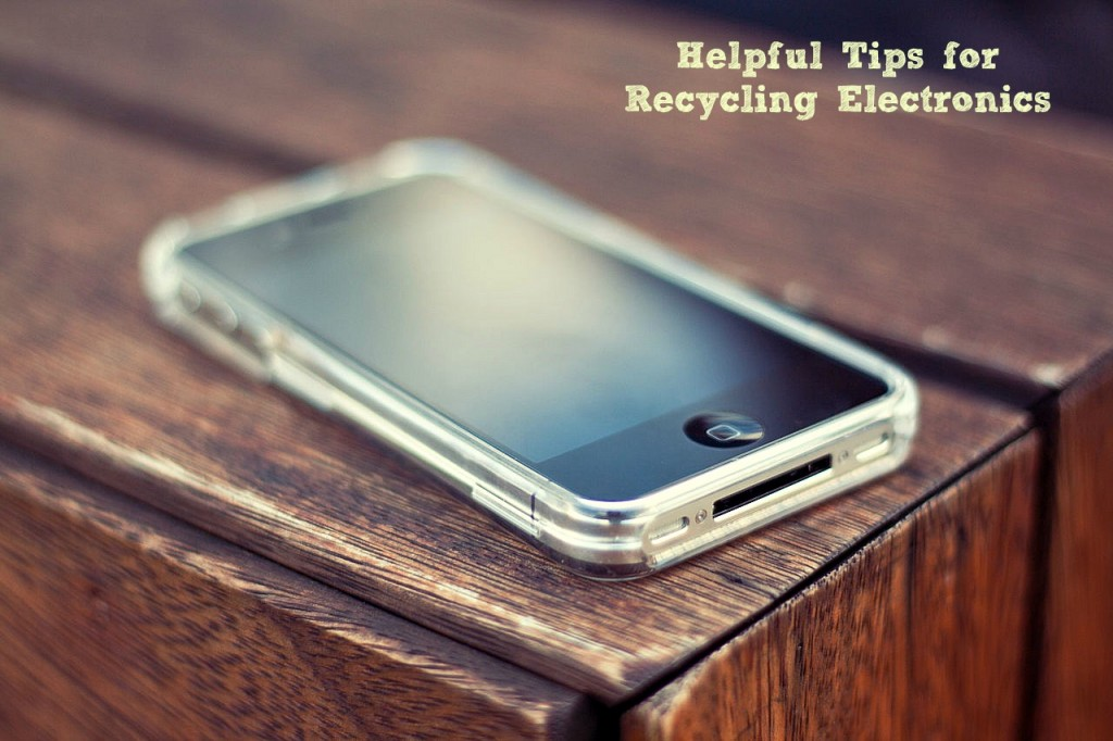 Electronics Recycling Tips
