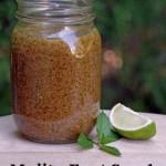 Easy DIY Mojito Foot Scrub Recipe