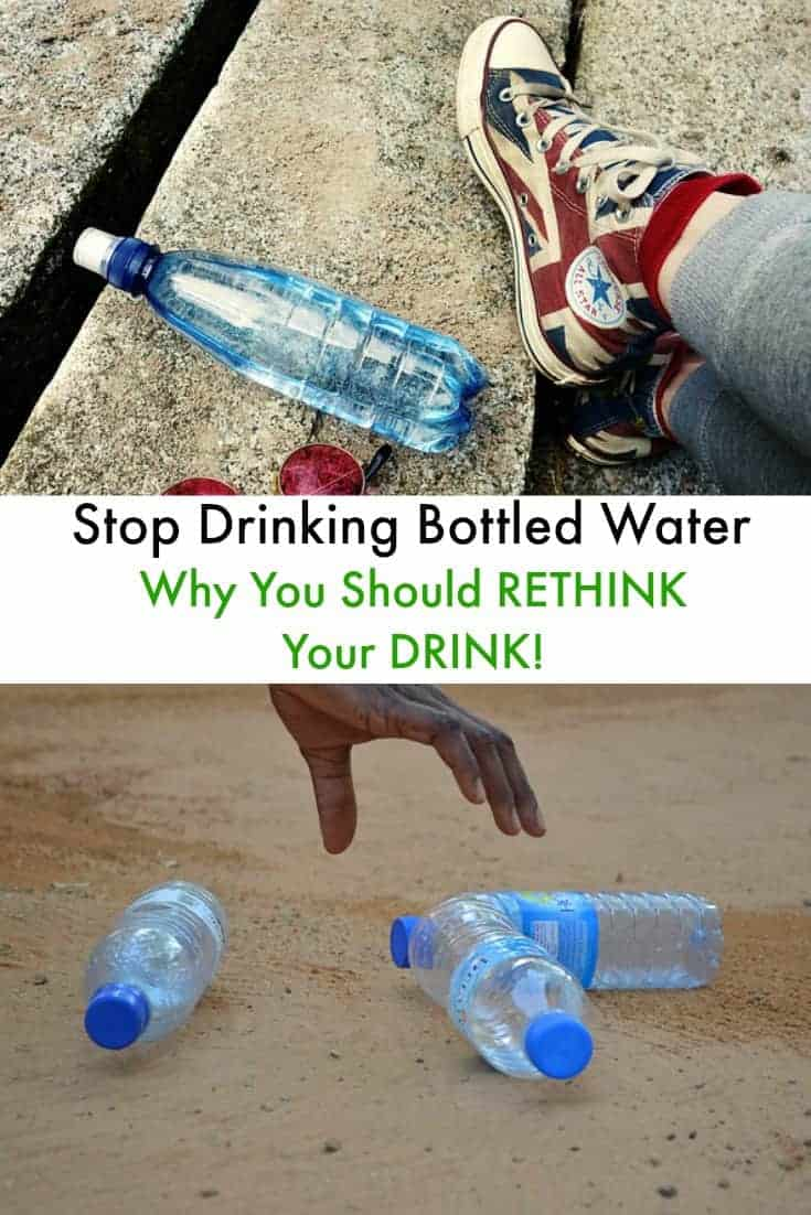 Single use plastic is destroying our environment.  Here are some tips to help you stop drinking bottled water to save money and go green!