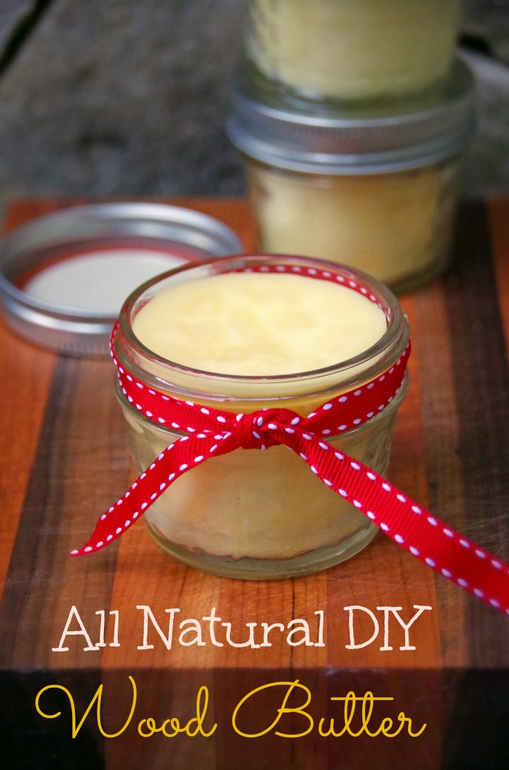 DIY All Natural Wood Butter 2