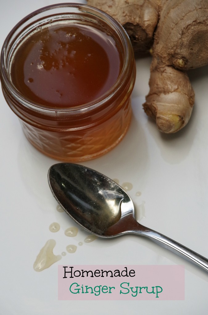 Ginger Syrup 2