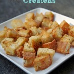 How to Make Homemade Croutons 2