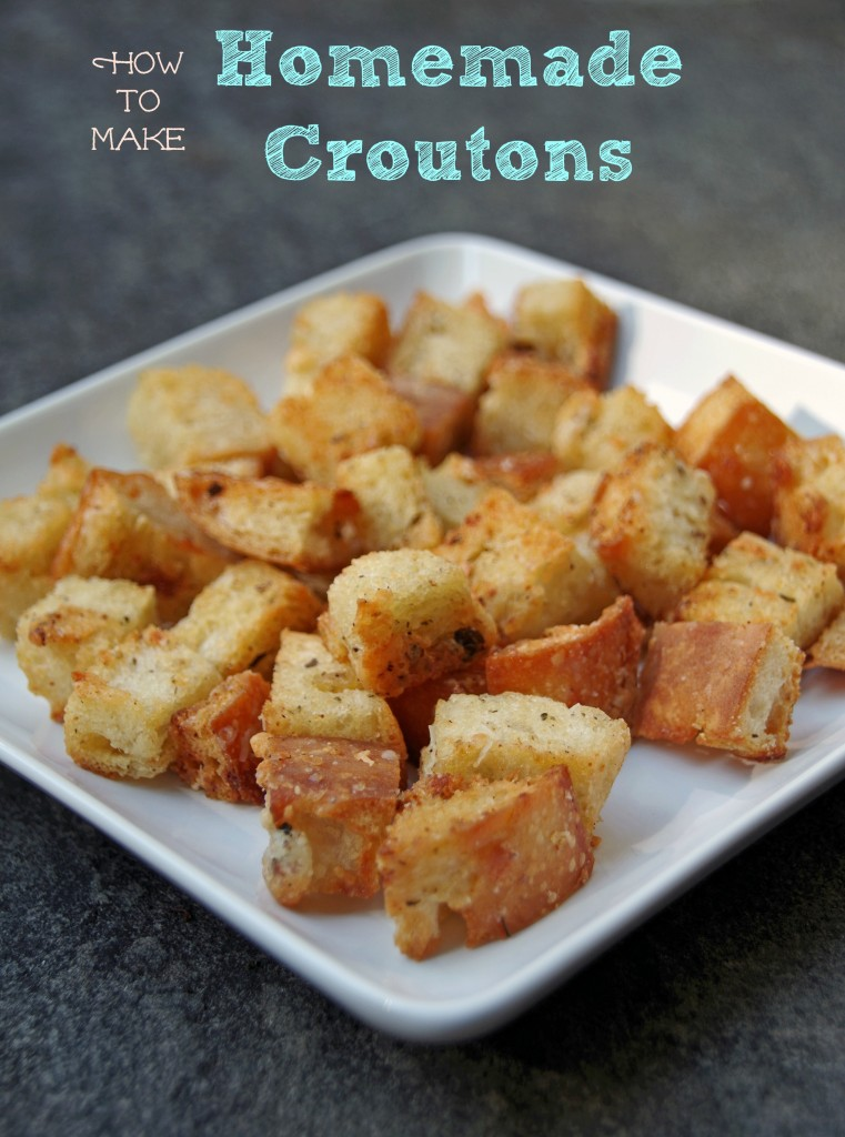 How to Make Homemade Croutons 2