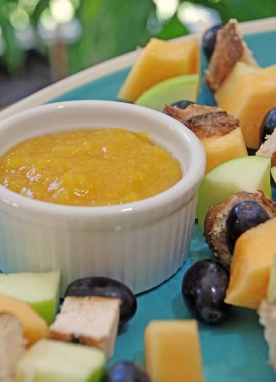 Easy Kid Friendly Recipe Peach Dipping Sauce
