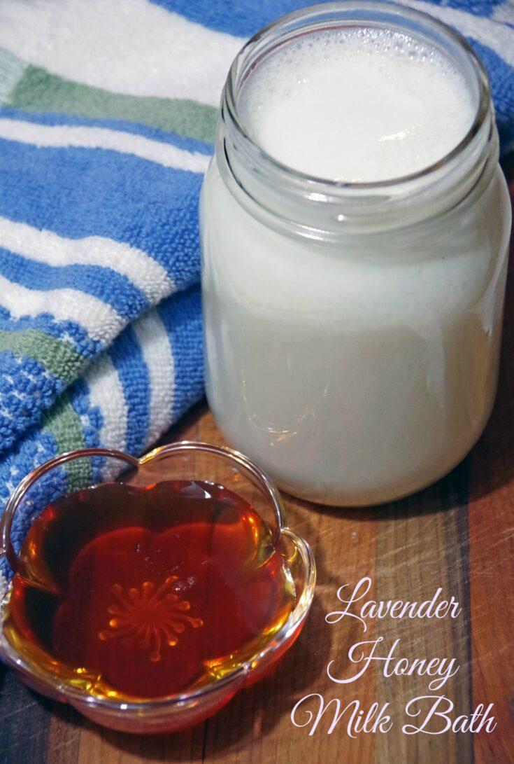 Lavender Honey Milk Bath Recipe