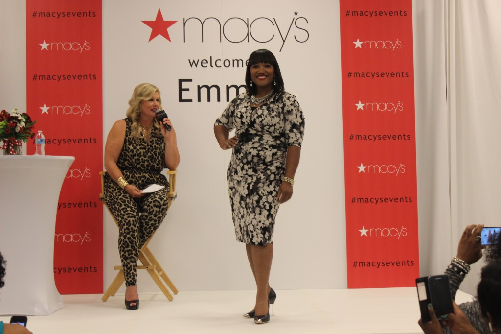 Full figured fashion styles hit the runway at Macy's #MacysEvents