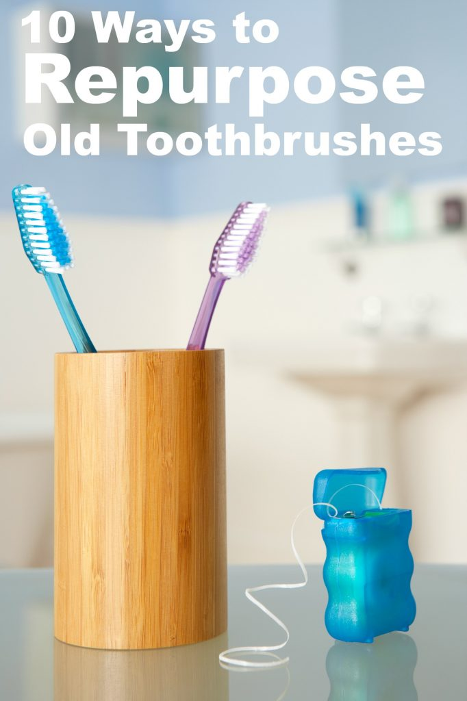 Wondering what to do with old toothbrushes? Don't throw them away! Here are 10 ways to repurpose old toothbrushes to save time and money!