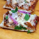 Barbecue Chicken French Bread Pizza