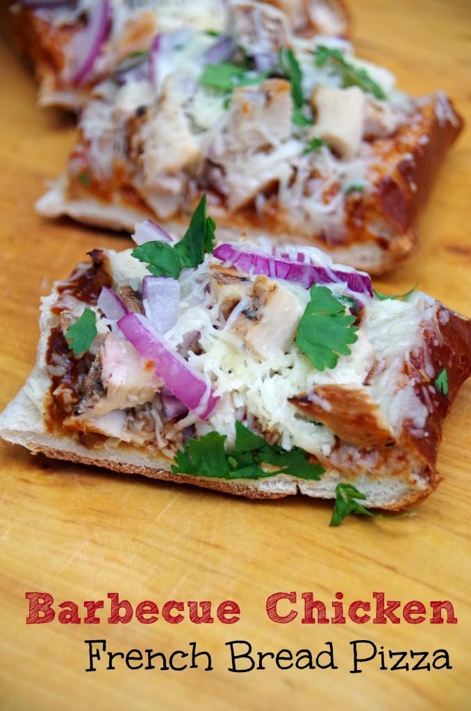 Barbecue Pizza French Bread Pizza 2