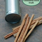 Recycled Crafts: A Cinnamon Stick Centerpiece!