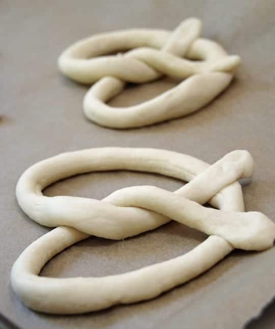 Making Homemade Pretzels