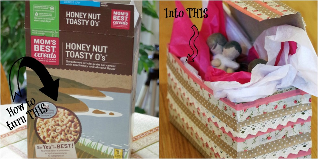 Turn a Cereal Box into a Beautiful Gift Box 2