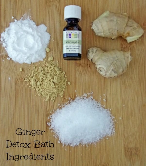 Ginger Detox Bath: Sweat those toxins out!