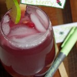 Pomegranate Margarita Recipe and DIY Festive Drink Stirrers!