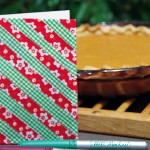 Sweet Potato Pie and Washi Tape Note Card Make a Nice Teacher Gift