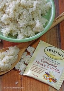 Camomile, Vanilla and Honey Sugar Scrub Small