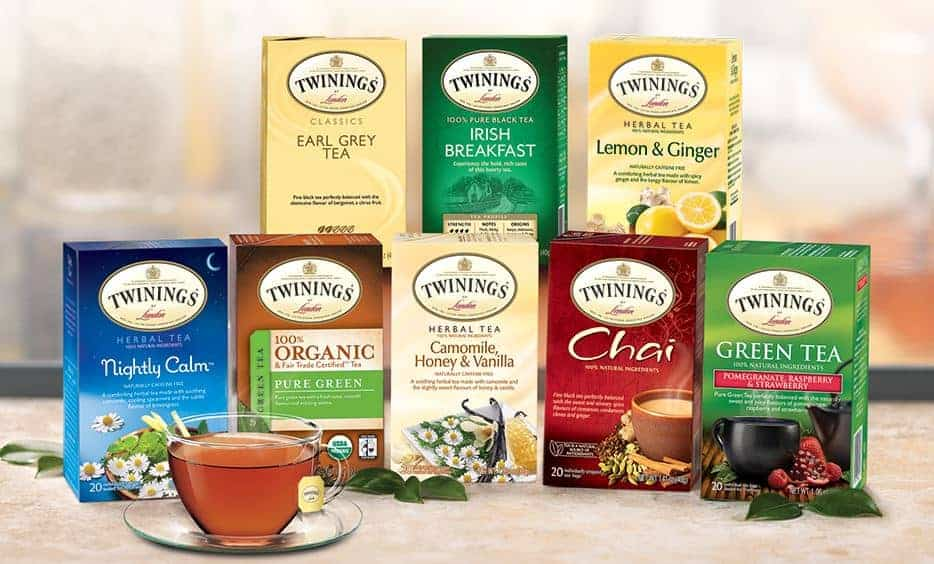 Chamomile, Honey and Vanilla Sugar Scruband a Twinings Tea for every moment!