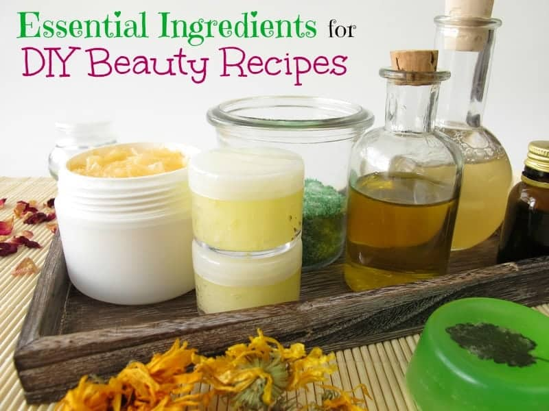 Essential Ingredients for DIY beauty recipes