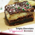 Triple Chocolate Peppermint Brownie Recipe