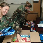 What to put in miliary care packages