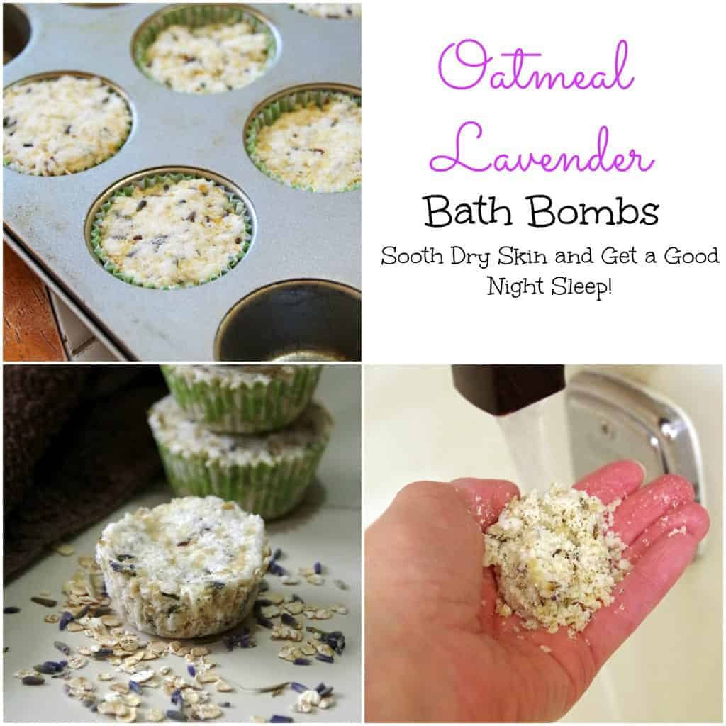 Lavender oatmeal bath bombs for soft skin and a good night sleep bath bombs collage 2 solutioingenieria Gallery