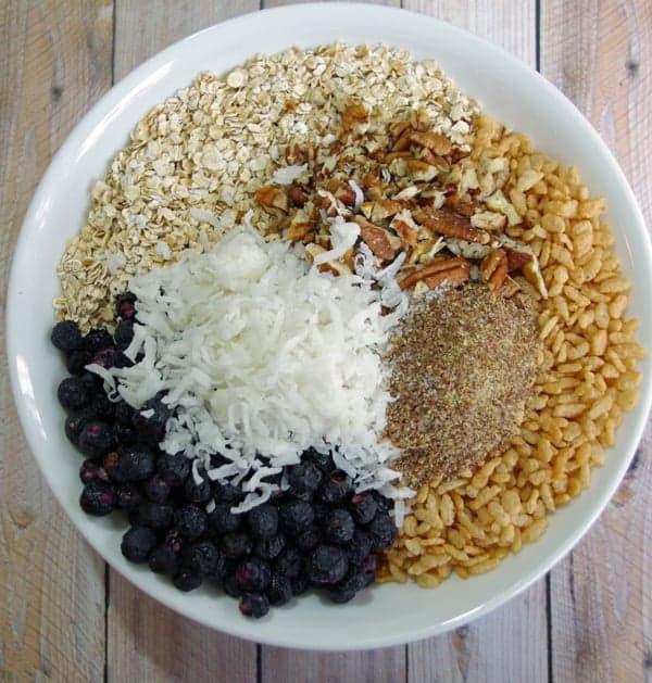 Blueberry Breakfast Bar Recipe 2