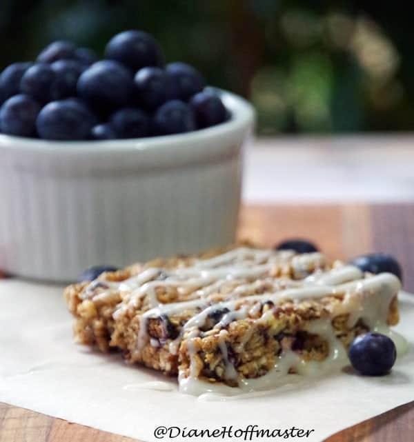 Blueberry Breakfast Bar Recipe