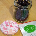 DIY Decorative Jar Lids for an Upcycled Valentine's Day Treat Jar