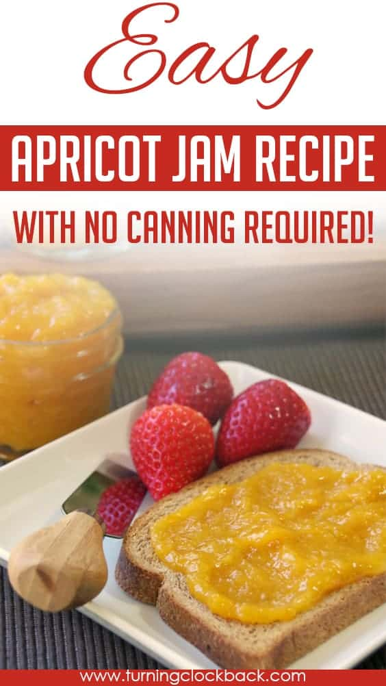 Easy Apricot Jam Recipe with no Pecitn