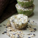 Lavender Oatmeal Bath Bombs for Soft Skin and a Good Night Sleep