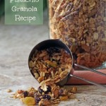 Pistachio Granola Recipe plus a Quick and Healthy Breakfast Roundup