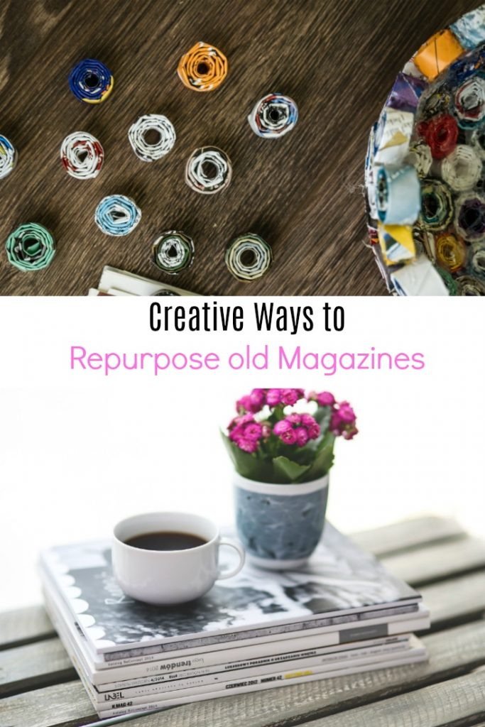 Creative Ways to Repurpose Old Magazines