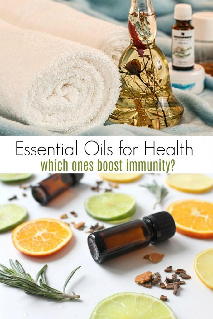 Essential Oils for Healthy and Improved Immunity
