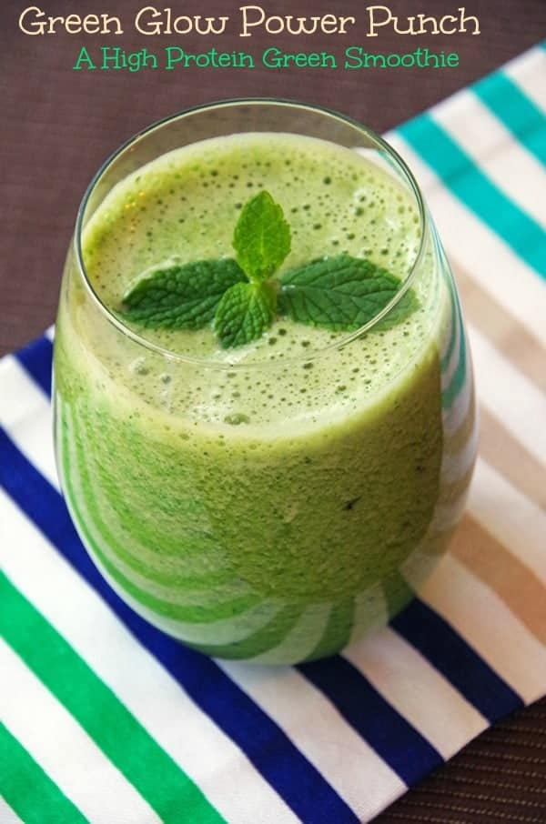 Green Smoothie High Protein Snack Smal 2l