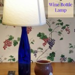 How to Make a Wine Bottle Lamp
