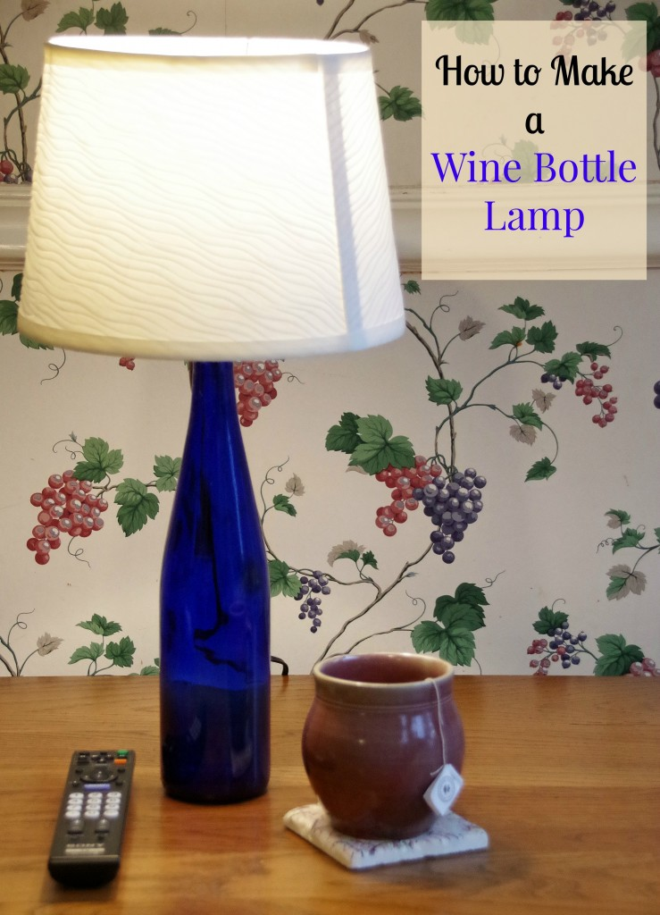 How to Make a Wine Bottle Lamp 4