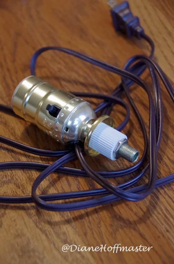 Wine Bottle Lamp Kit