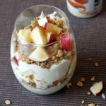 Caramel Apple Yogurt Parfait Recipe and #YogurtPerfection with Liberte!