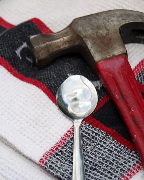 Garden Markers Spoons Craft 1