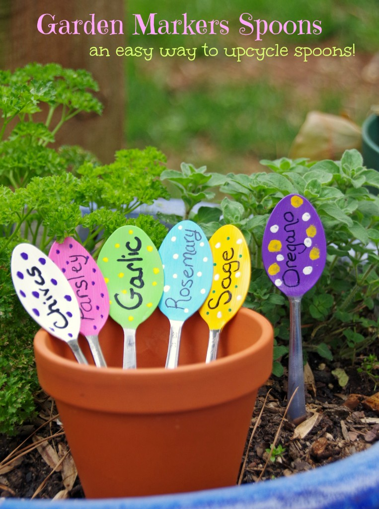 Garden Markers Spoons Craft 4