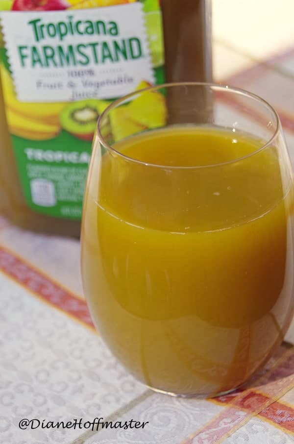 HOw to eat more vegetables with Tropicana
