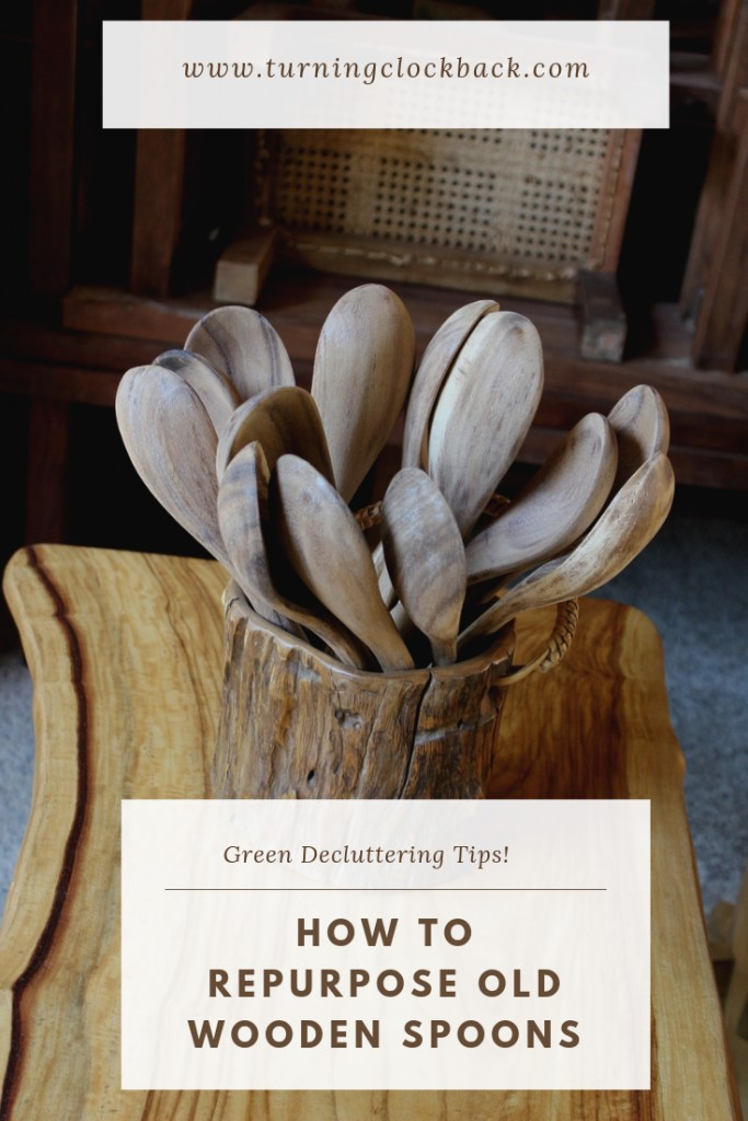 How to Repurpose Old Wooden Spoons